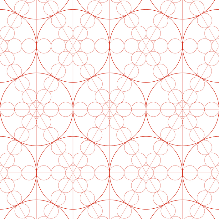 01_Brett_Design_Wallpaper_String_Circles_Persimmon_White