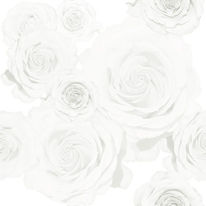 white roses wallpaper brett design inc interior design