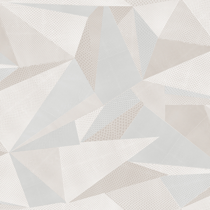 Brett Design Wallpaper Harlequin Geometrics Grey Lizard