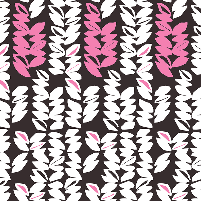 Brett Design Wallpaper- Jojo in Pink and Brown