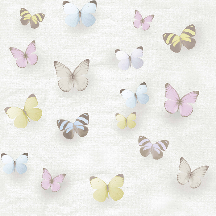 Brett Design Wallpaper Graces Butterflies Pales