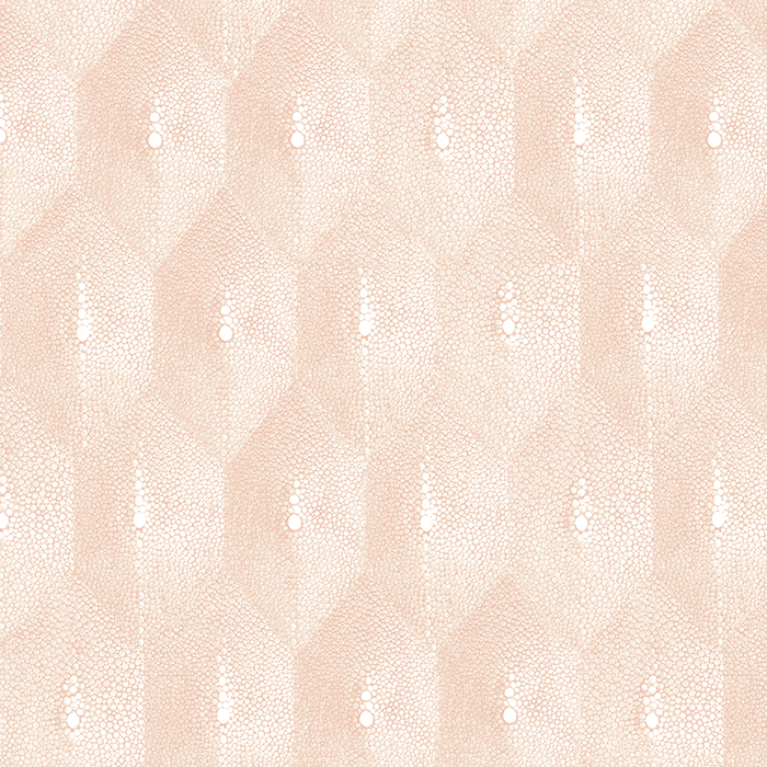 Brett Design Wallpaper Pattern Shagreen Diamond Blush
