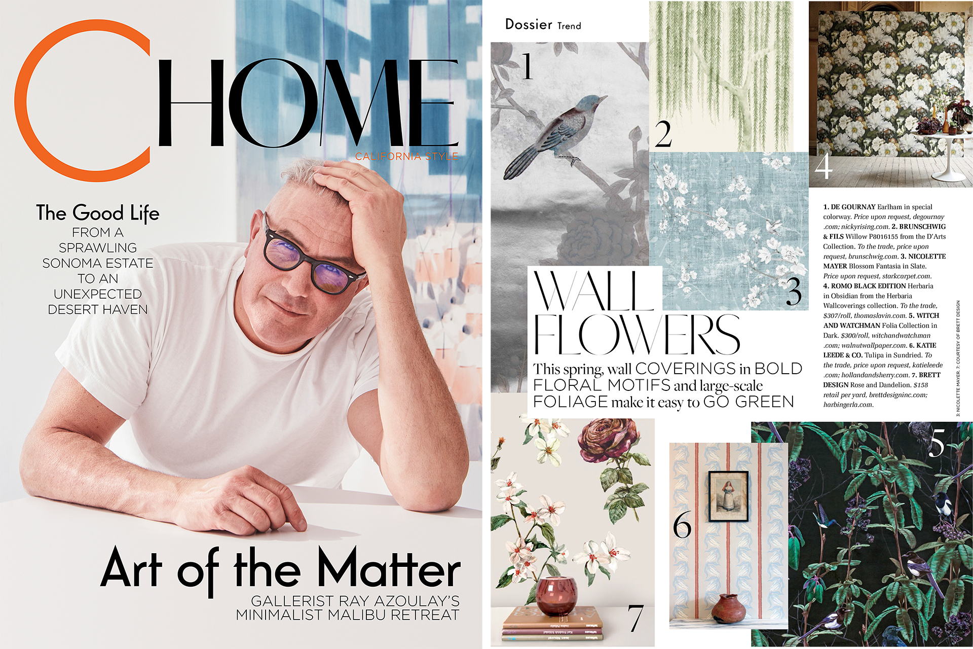 BRETT DESIGN WALLPAPER IN C Home Spring 2017